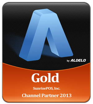 SunrisePOS, Inc._Aldelo Gold Channel Partner logo
