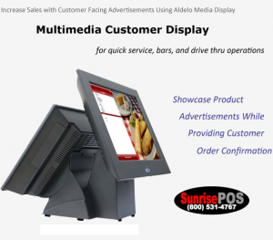Rear Display Digital Advertising