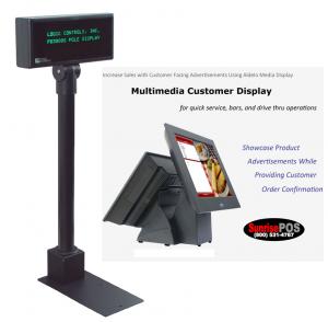 Customer and Media Displays