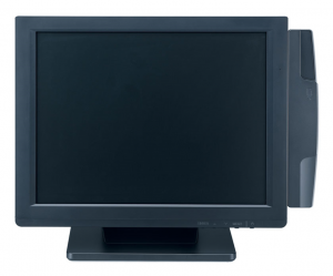 SunrisePOS 15INCH LCD Monitor (Shown with MSR)
